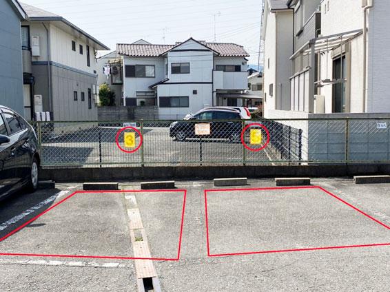 第2駐車場(2台分)